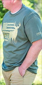 Realtree Buckflag Mens T-shirt